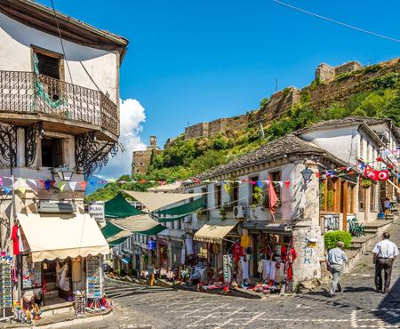 Gjirokaster Enver Hoxha hometown sights
