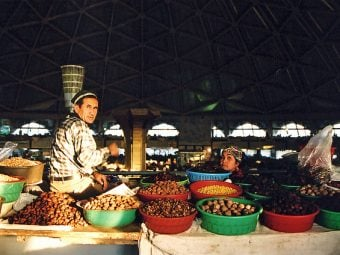 markets in central asia