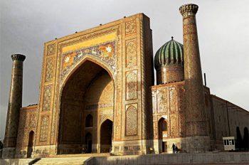 Samarkand Central Asia Rally