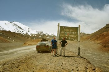 Pamir Mountains Central Asia Rally