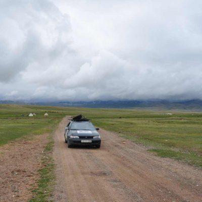 Central Asia Rally Kyrgyzstan Song Kul Lake