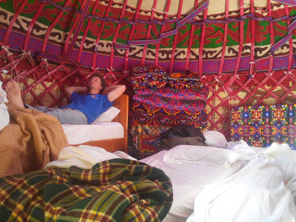 Central Asia Rally Yurt