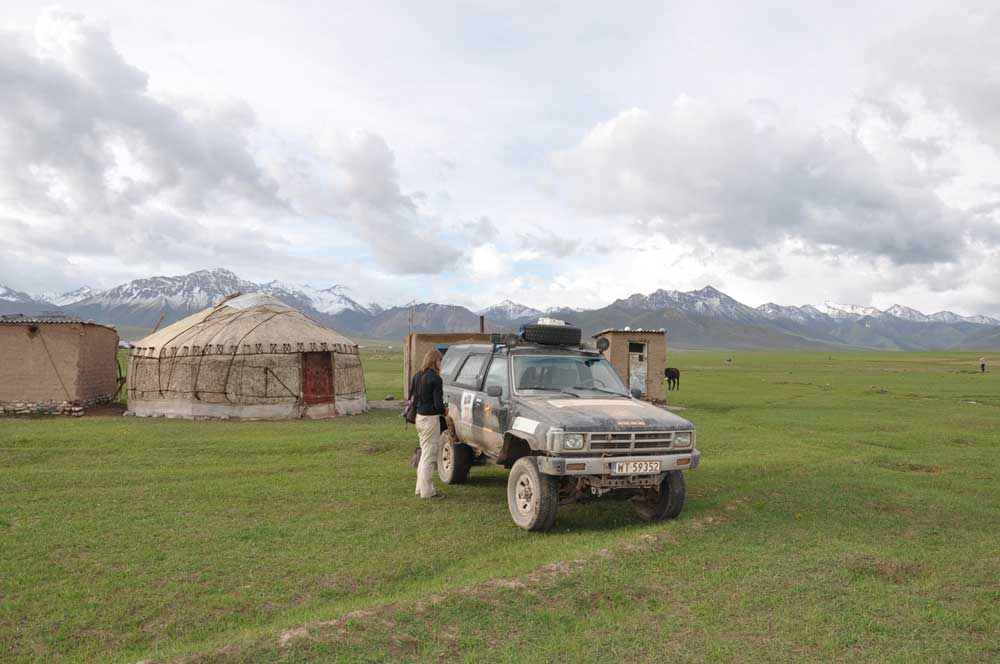 Central Asia Rally Kyrgyzstan Song Kul Lake