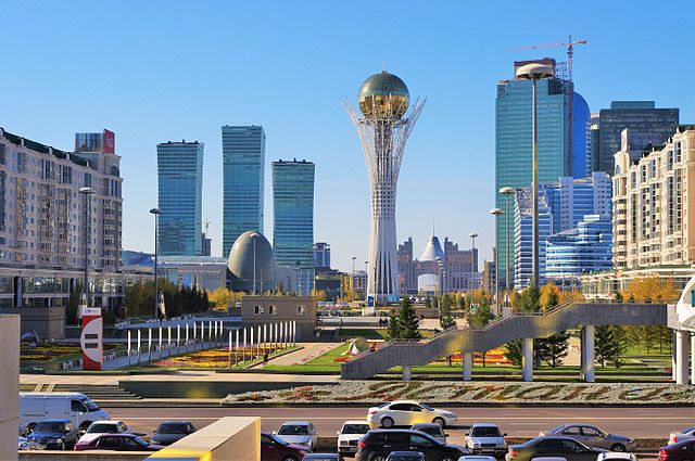 largest cities of central asia