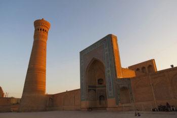 Central Asia Rally Uzbekistan Bukhara Kalyan minaret