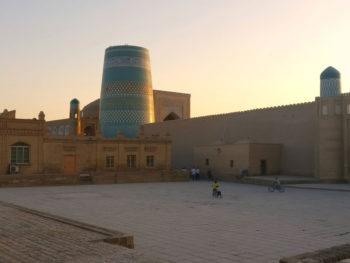 Central Asia Rally Uzbekistan Khiva Kalta Minor Minaret