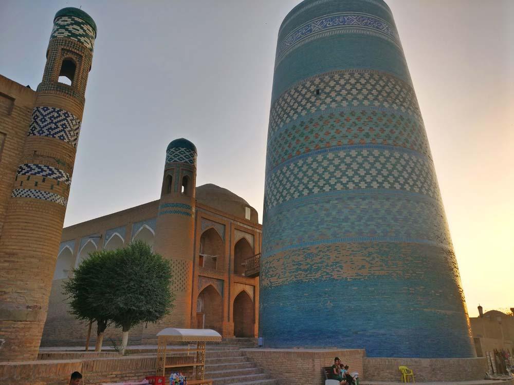 Central Asia Rally Kalta-minor Minaret Khiva