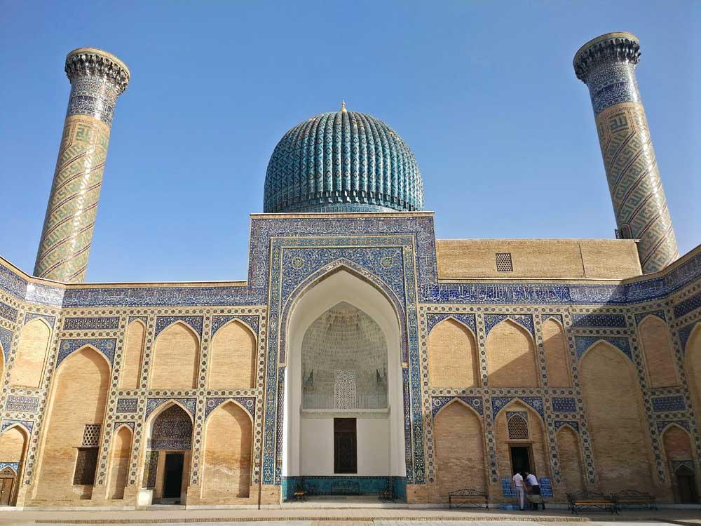Central Asia Rally Uzbekistan Samarkand Gur-e-Amir